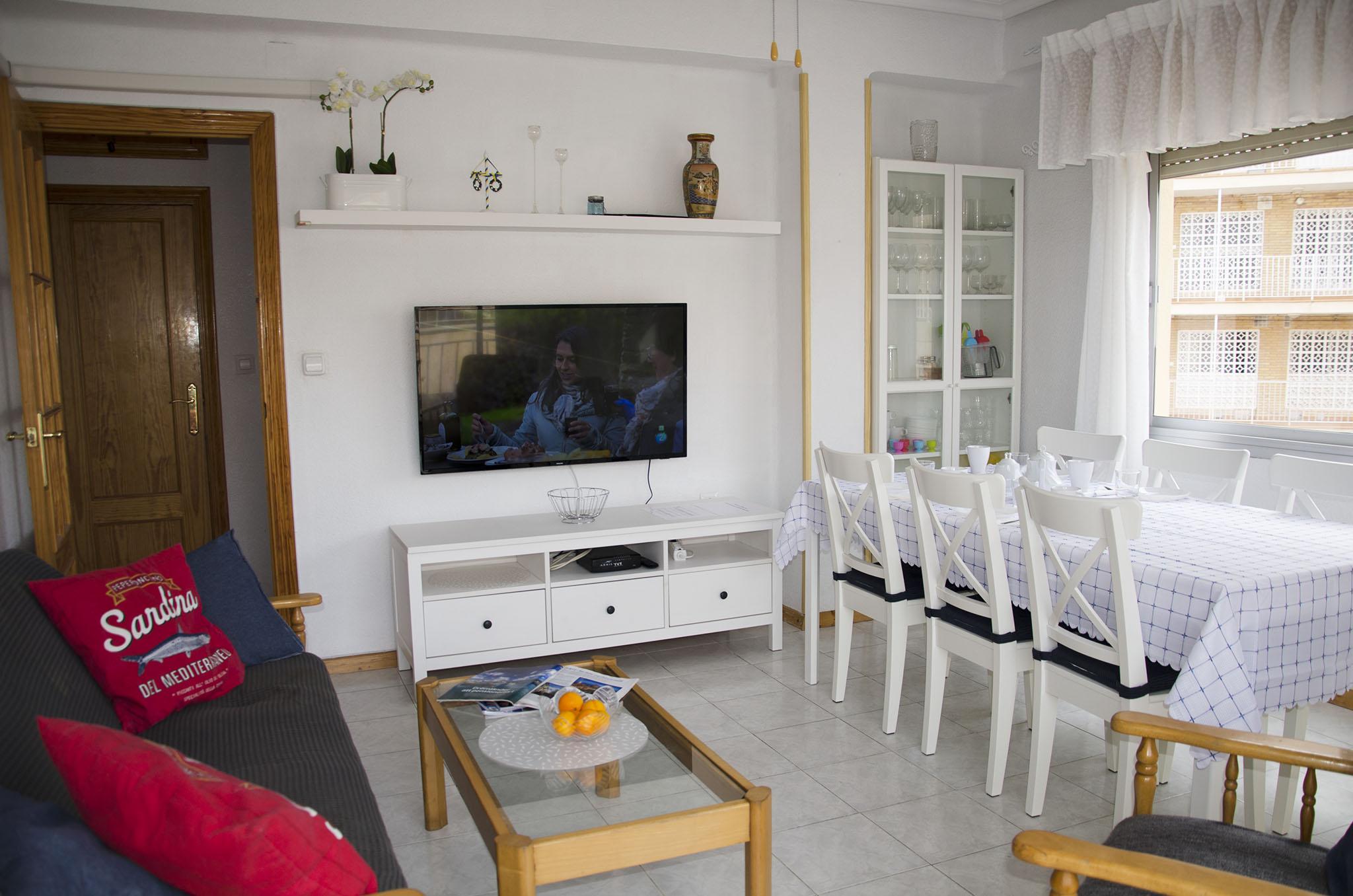 torrevieja holiday rental living room